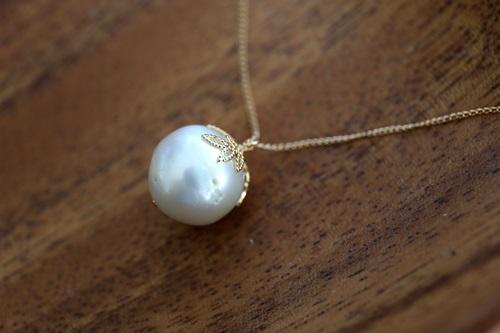 画像3: 14KGF south sea pearl necklace