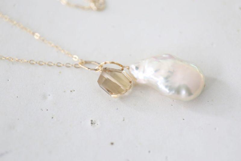画像4: 14KGF  pearl  necklace
