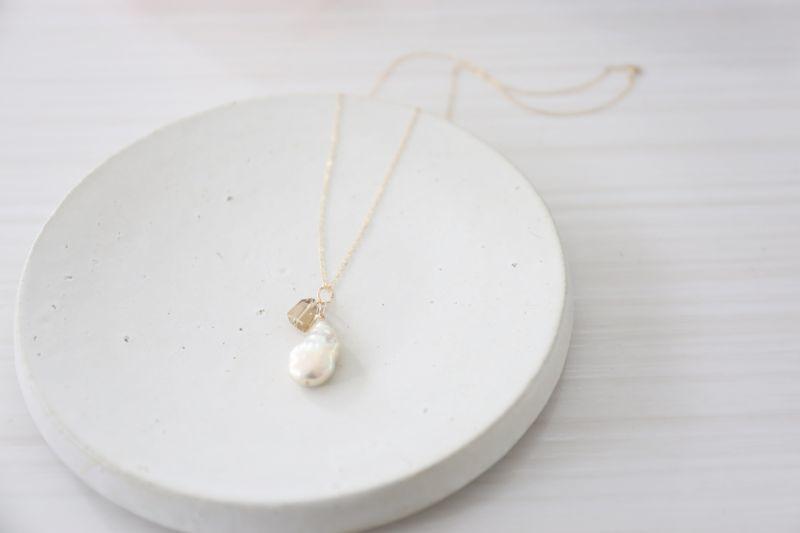画像3: 14KGF  pearl  necklace