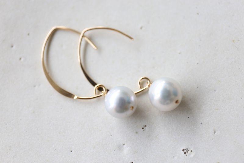 画像3: 14KGF pearl pierce
