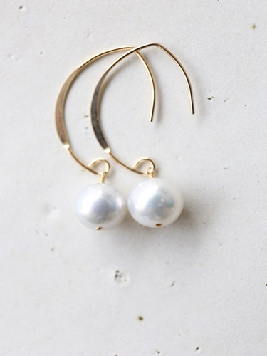 画像1: 14KGF pearl pierce
