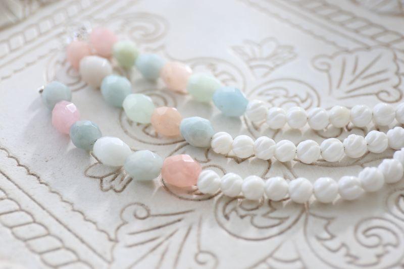 画像4: SILVER925 aquamarine bracelet