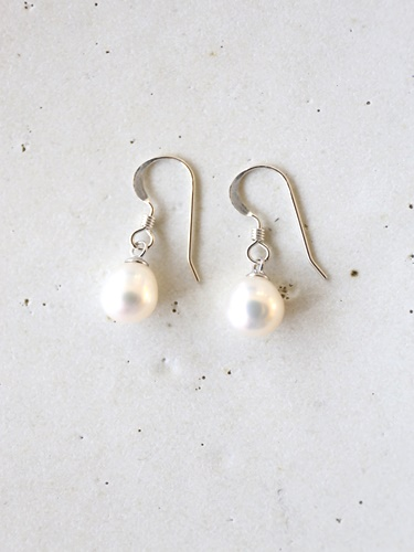 画像2: SILVER925  pearl pierce