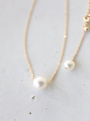 画像2: 14KGF akoya necklace