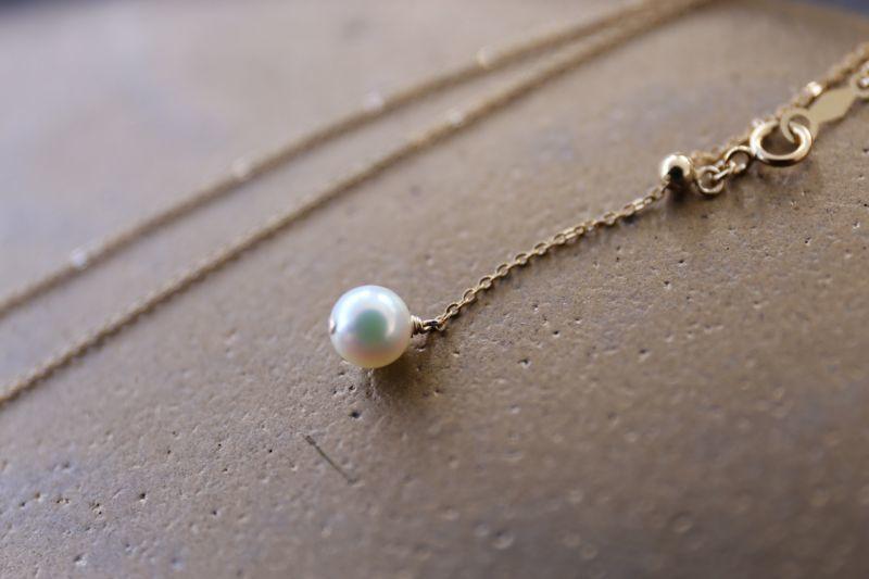 画像3: 14KGF akoya necklace