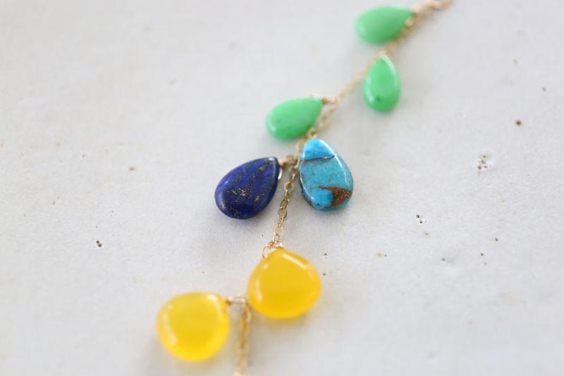 画像2: 14KGF multi necklace