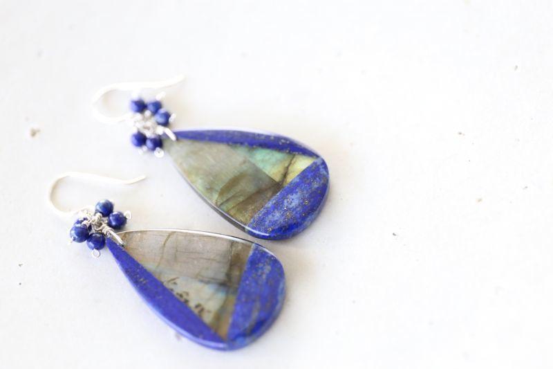 画像3: SILVER925 lapis lazuli pierce