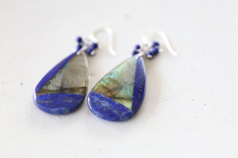画像2: SILVER925 lapis lazuli pierce