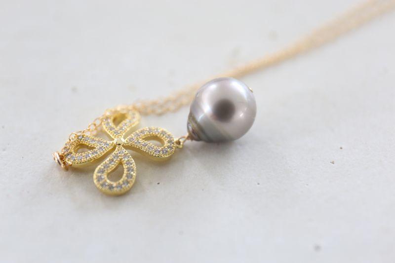 画像2: 14KGF  South Sea Pearl necklace