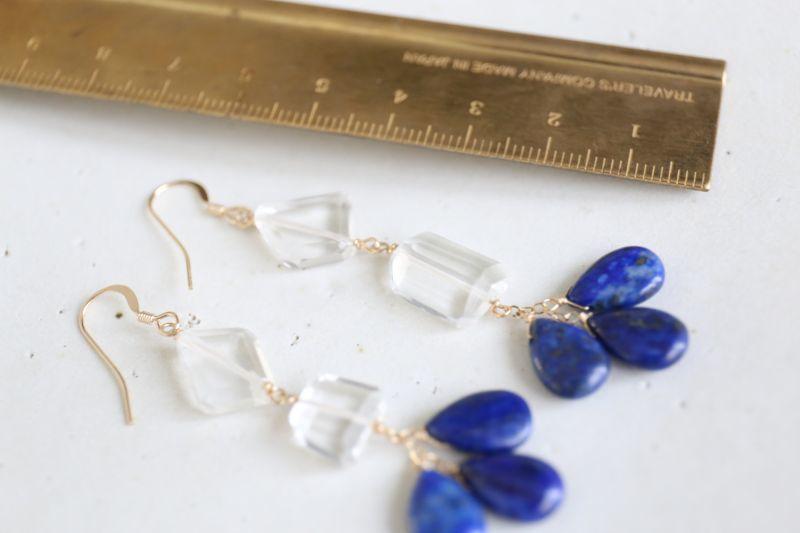 画像4: 14KGF  lapis lazuli crystal pierce