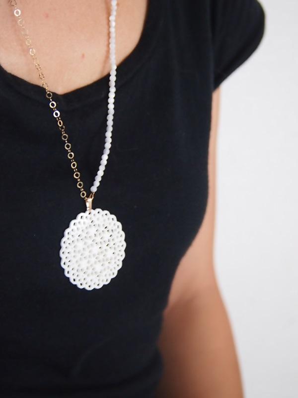 画像2: 14KGF   shell necklace