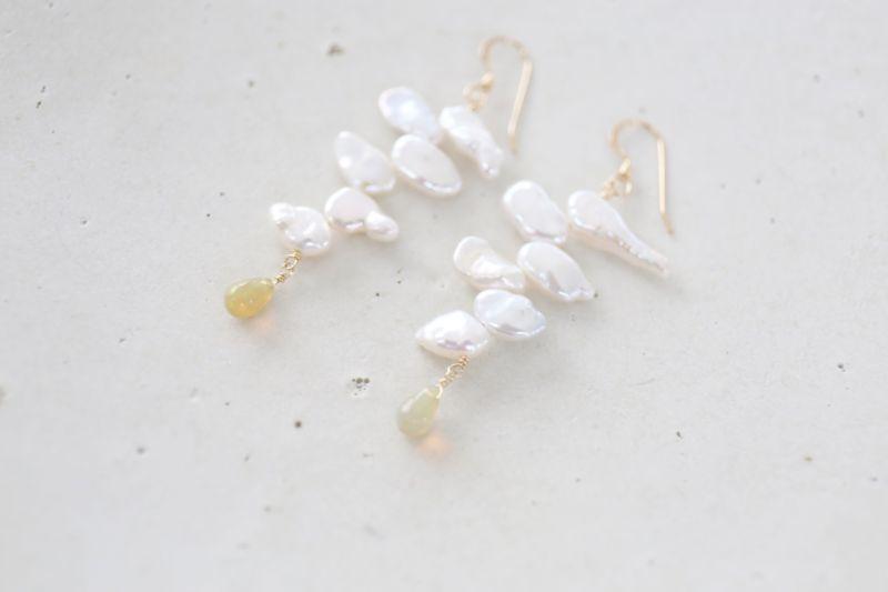 画像2: 14KGF  opal pearl  pierce