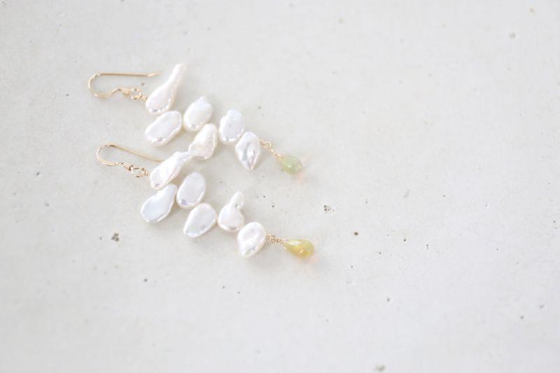 画像4: 14KGF  opal pearl  pierce
