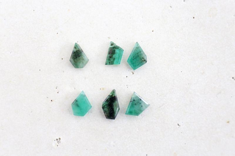 画像5: 14KGF  Ssize emerald pierce