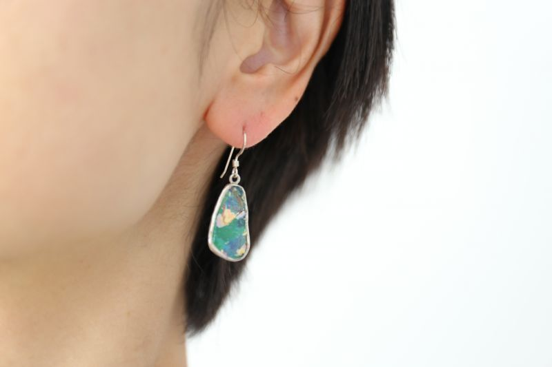 画像4: SILVER925 roman glass pierce