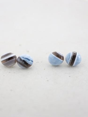 画像1: 14KGF  blueopal pierce