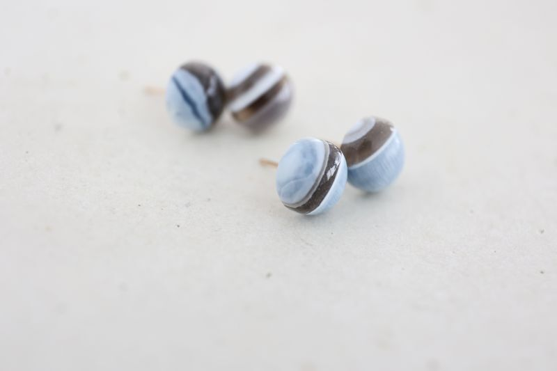 画像3: 14KGF  blueopal pierce