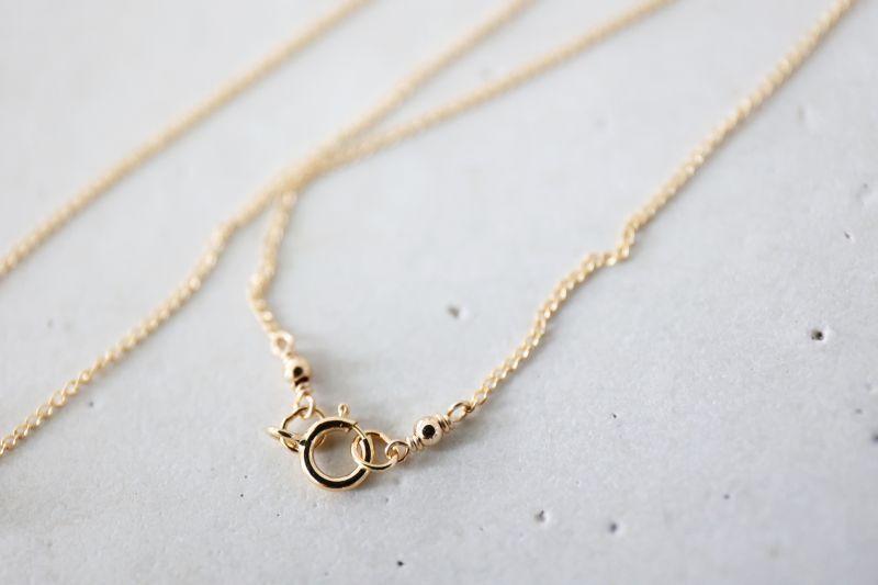 画像3: 14KGF   gold necklace