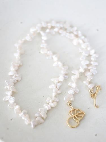 画像1: keshi pearl necklace